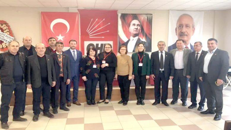 CHP Havsa İlçe Başkanlığına Hüseyin Özden seçildi