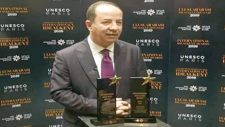 Belediyeye UNESCO'da iki ödül