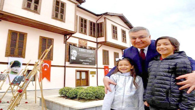 Kırklareli'deki Atatürk Evi'ni 2 yılda 350 bin kişi ziyaret etti