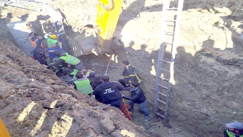 Kırklareli'nde göçük altında kalan 2 işçi kurtarıldı