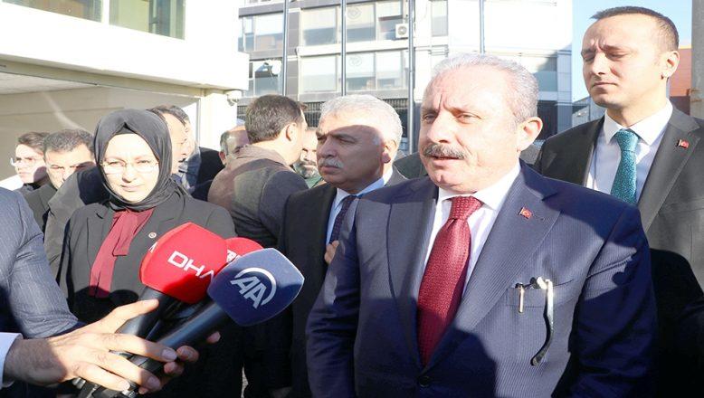 TBMM Başkanı Mustafa Şentop Tekirdağ'da
