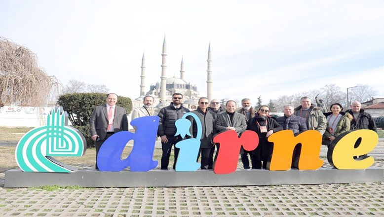 Edirne'yi keşfettiler