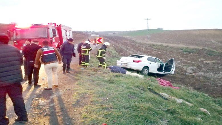 TIR ile otomobilin çarpışması sonucu 5 kişi yaralandı