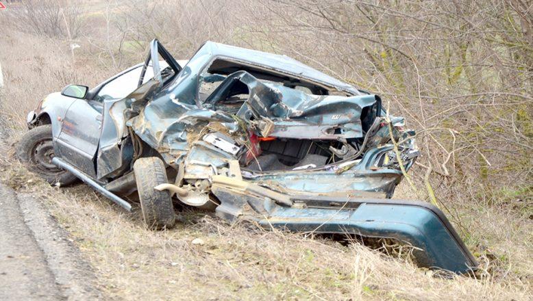 Tekirdağ'da otomobil devrildi: 1 yaralı