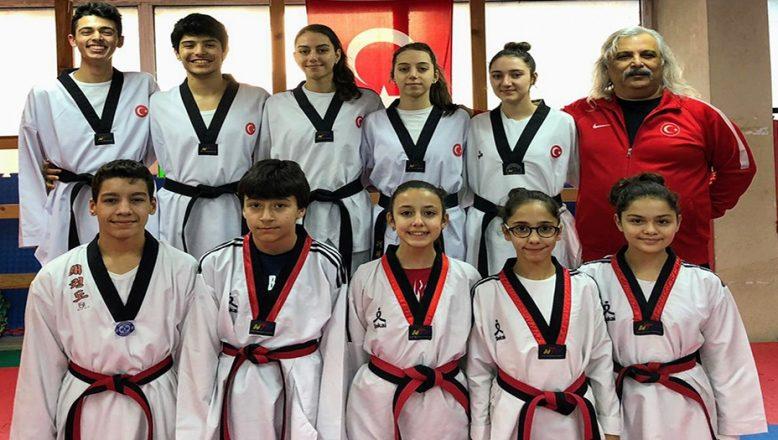 7. Uluslararası Türkiye Açık Tekvando Turnuvası'na katılacaklar