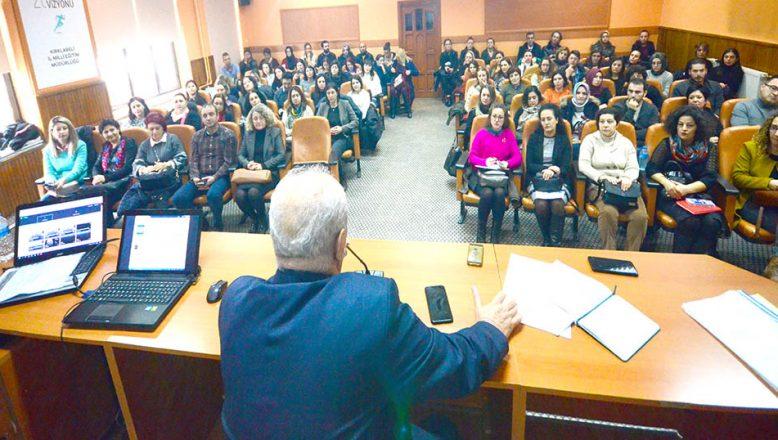 eTwinning Projesi koordinasyon toplantısı yapıldı