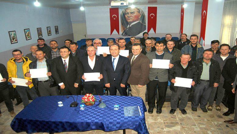 Sürü Yönetimi Kursu'na katılanlar sertifikalandı