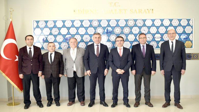 Başsavcı Karabacak'a, Gümrük Günü ziyareti