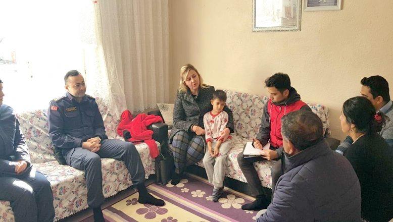 Jandarma, aileleri bilgilendirdi