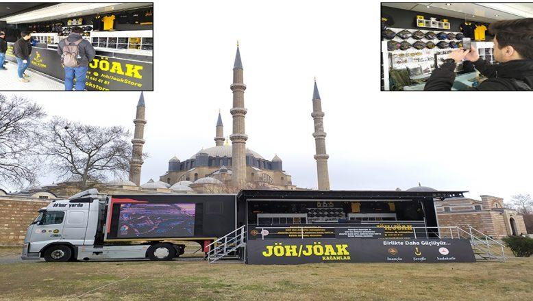 JÖH ve JÖAK Tanıtım TIR'ı, Edirne'de