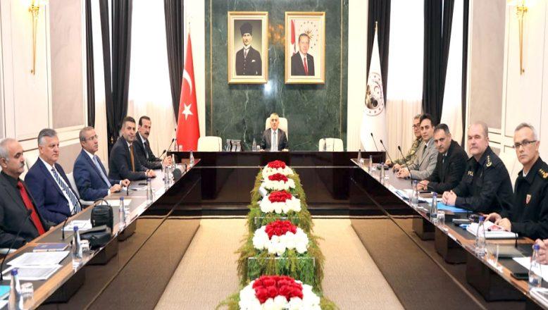 Asayiş Koordinasyon Toplantısı yapıldı