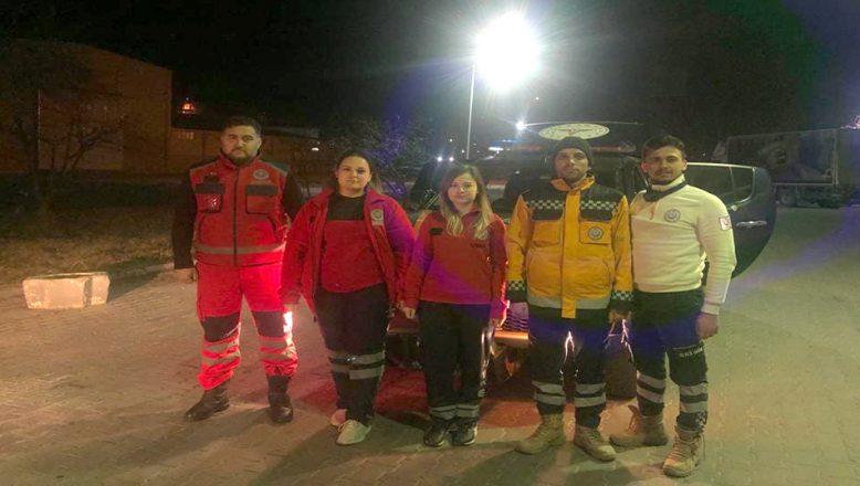 Depremin yaşandığı Elazığ'a destek ekip gönderildi