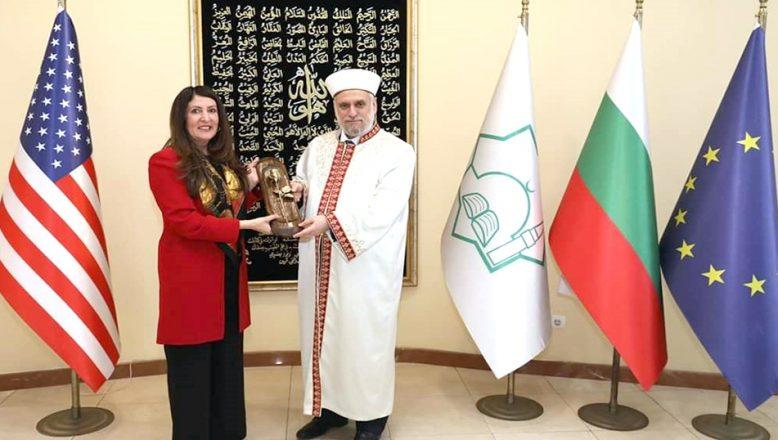 Büyükelçi Mustafa, Başmüftülüğü ziyaret etti