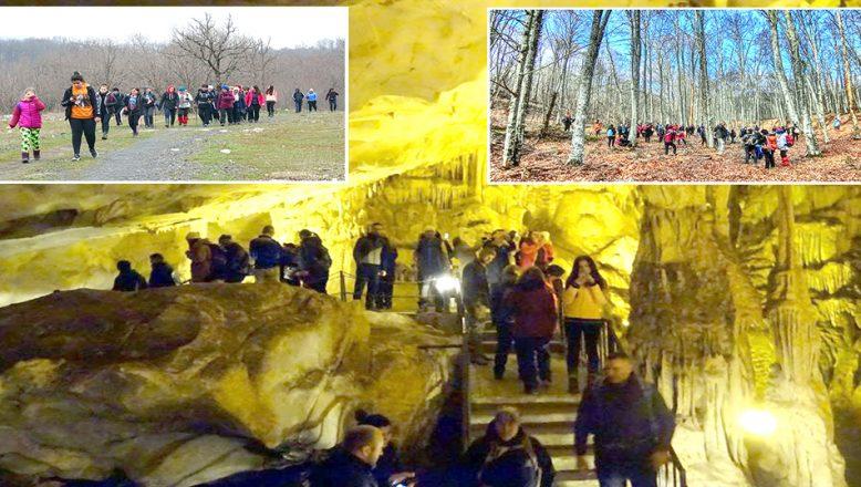 Dupnisa Mağarası'nı ve çevre yerleri arşınladılar