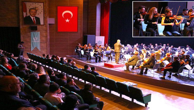 Balkan Senfoni Orkestrası'ndan klasik müzik konseri