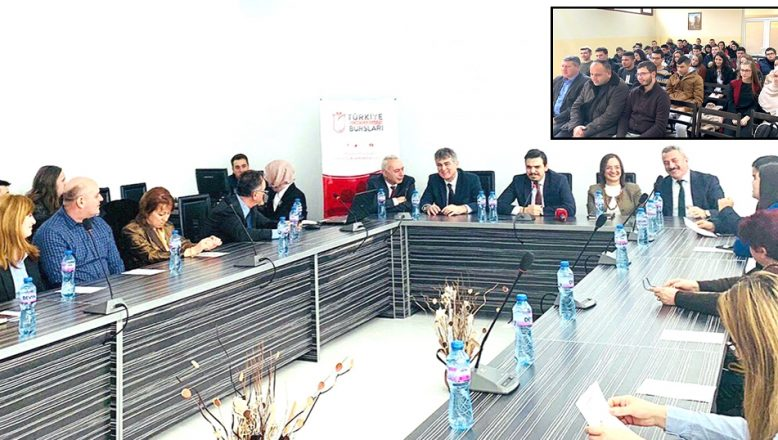 Türkiye Bursları tanıtımları devam ediyor