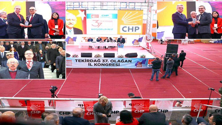 CHP Tekirdağ 37. Olağan İl Kongresi yapıldı