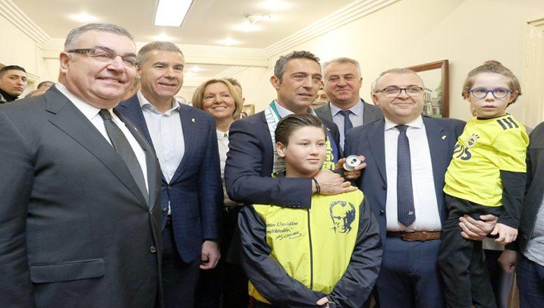 Fenerbahçe Spor Kulübü Başkanı Ali Koç, Kırklareli'de