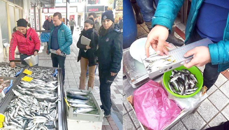 Balık satış yerleri denetlendi