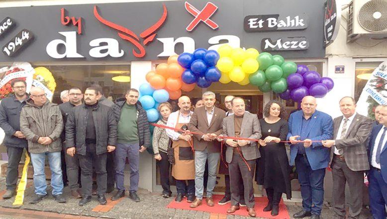 'By dana' restoran açıldı
