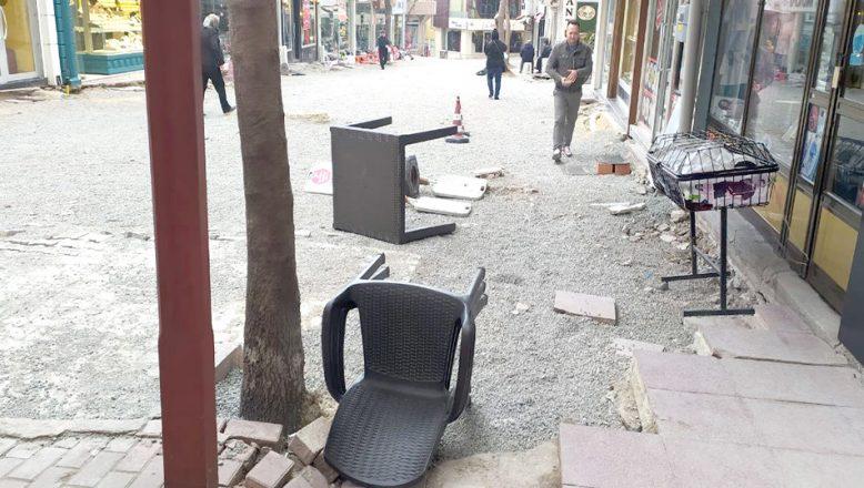 Edirne'nin güneyinde fırtına etkili oluyor