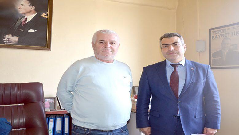 KGK Edirne Temsilcisi Karakaş'a ziyaret