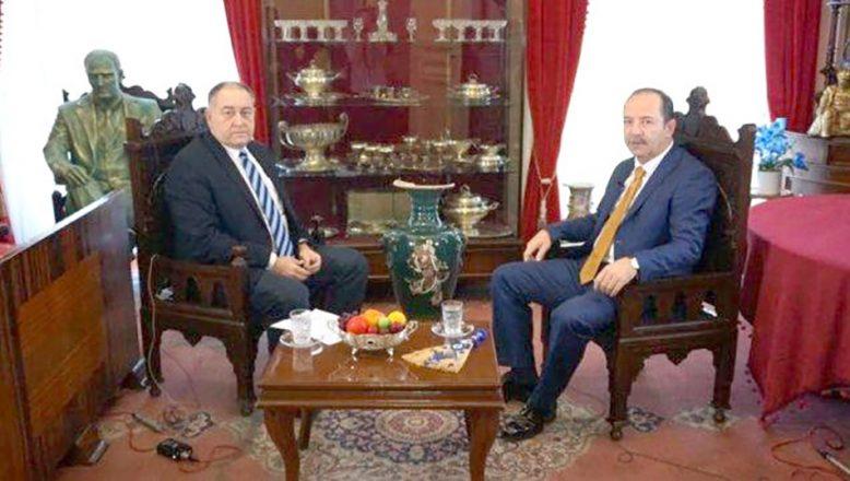 Gürkan, Habertürk'te canlı yayın konuğu