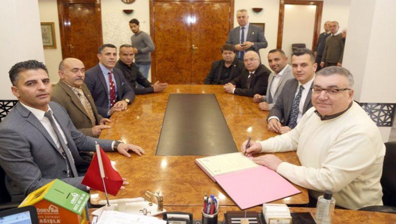 Kardeş Belediye Protokolü imzalandı