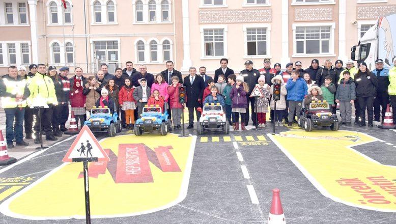 """Keşan'a """"Çocuk Trafik Eğitim Parkı"""""""