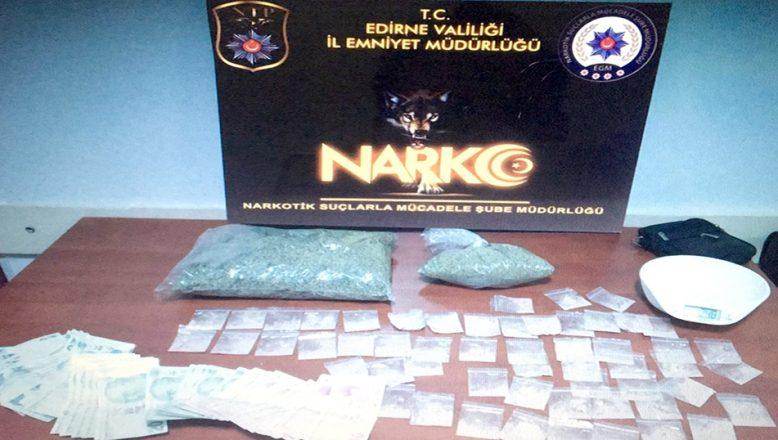 Uyuşturucu operasyonunda iki tutuklama