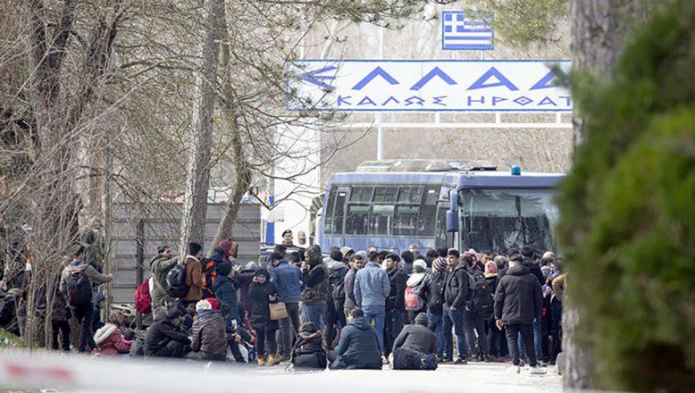 Göçmenler Yunan kapısına dayandı