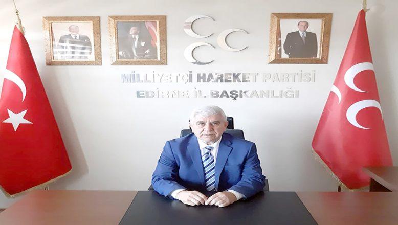 """Tercan, """"Edirnelilerin yüzü MHP ile gülecek"""""""