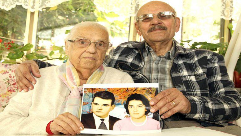 Kadir amca, 57 yıllık öğretmen eşini sevgiyle anıyor