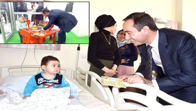 Şarköy Devlet Hastanesi'nde, Çocuk Kütüphanesi açıldı