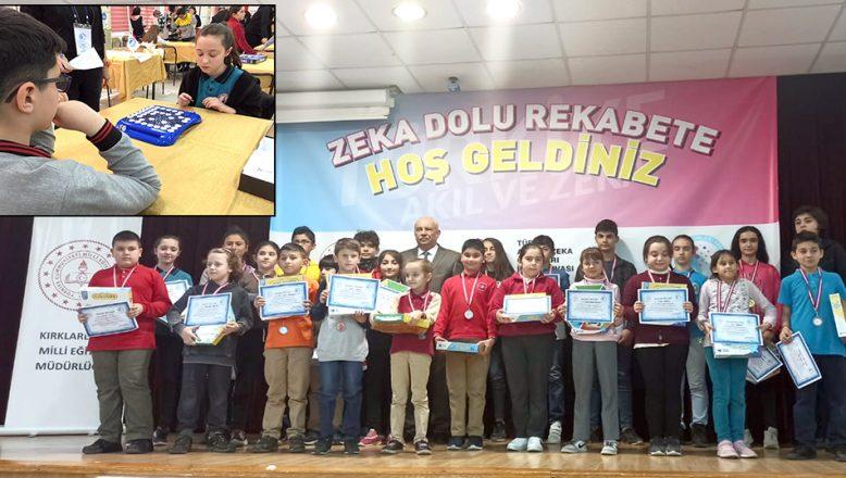 Akıl ve Zeka Oyunları turnuvası yapıldı