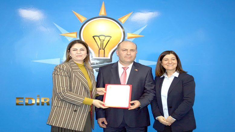 AK Parti Merkez İlçe yönetimi oluşturuldu