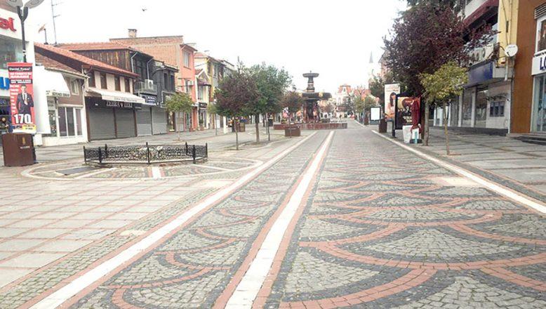 Edirne'de Korona Sessizliği