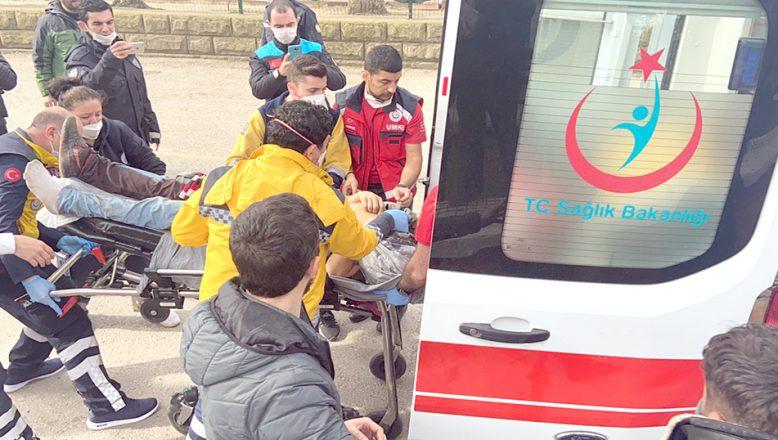 Yunan askerinin ateş açtığı göçmenler yaralandı