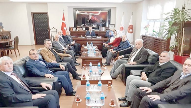 MHP'den Başsavcı Karabacak'a ziyaret