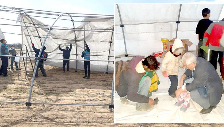 MHP'nin 'göçmen kreşi' kuruldu