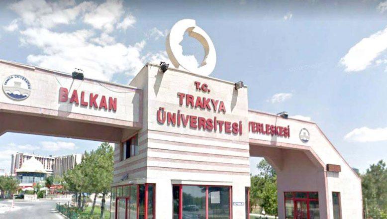 Trakya Üniversitesinde uzaktan eğitim başladı
