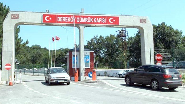 """""""Dereköy Sınır Kapısı'nın yolcu giriş ve çıkışlarına açık olduğu yönündeki haberler gerçek dışıdır"""""""