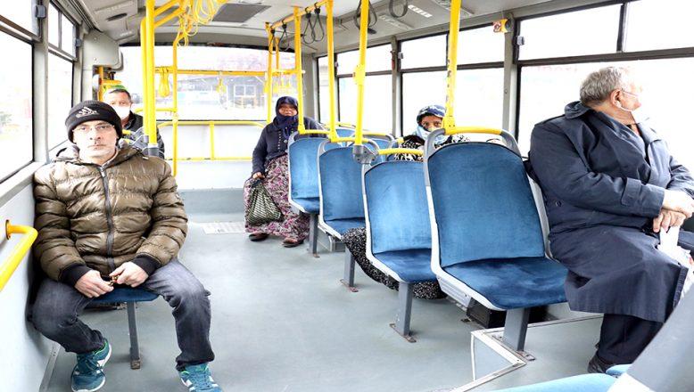 Kapasitelerinin yüzde 50'si kadar yolcu taşımaya başladılar