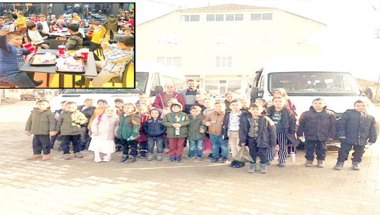 Köy çocukları, Kültür Gezisi'ne katıldı