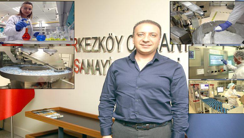 13 ilaç fabrikasında, 3 bin 560 kişi istihdam ediliyor