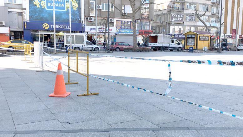 Çorlu Cumhuriyet Meydanı'na girişler yasaklandı