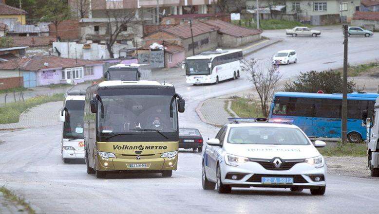 Trakya'da, cezaevlerinden tahliyeler başladı