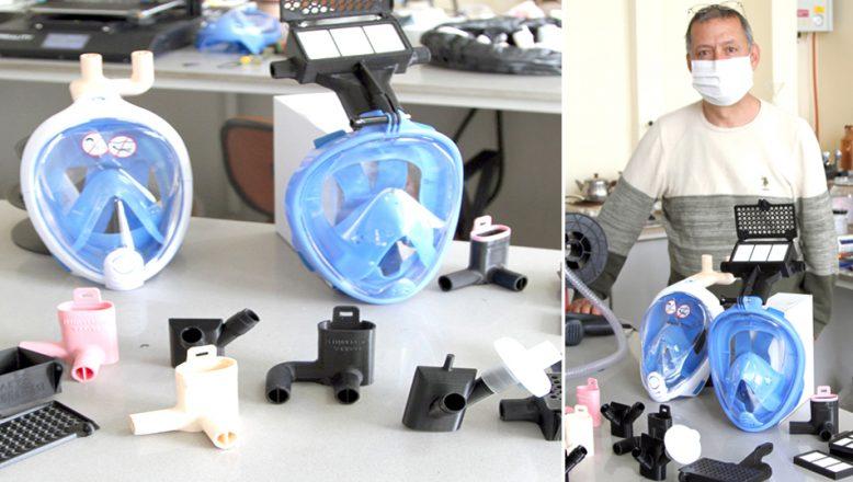 Koruyucu maskeler için filtre sistemi üretildi