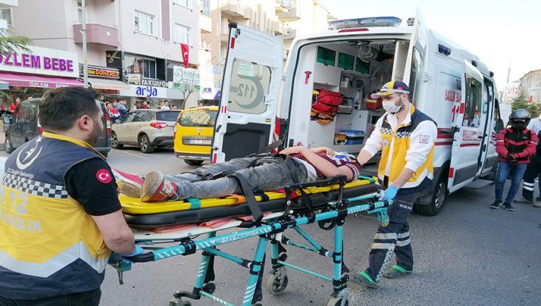 Alkollü ve ehliyetsiz sürücünün çarptığı yaya ağır yaralandı