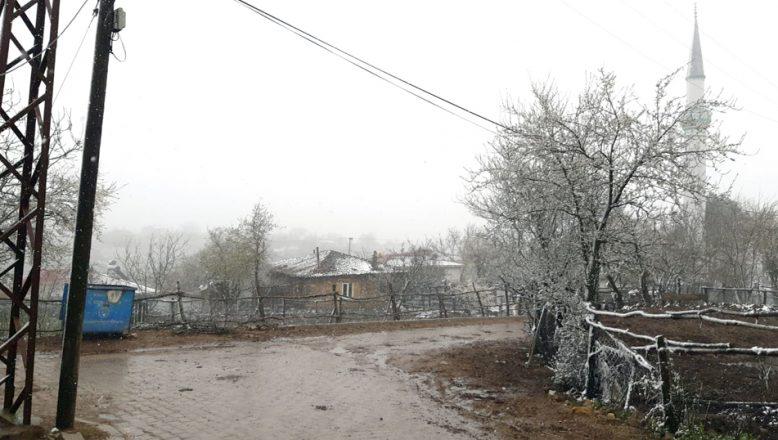 Yüksek kesimlerde, kar yağışı etkili oluyor